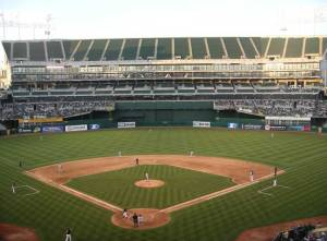 oakland athletics coliseum